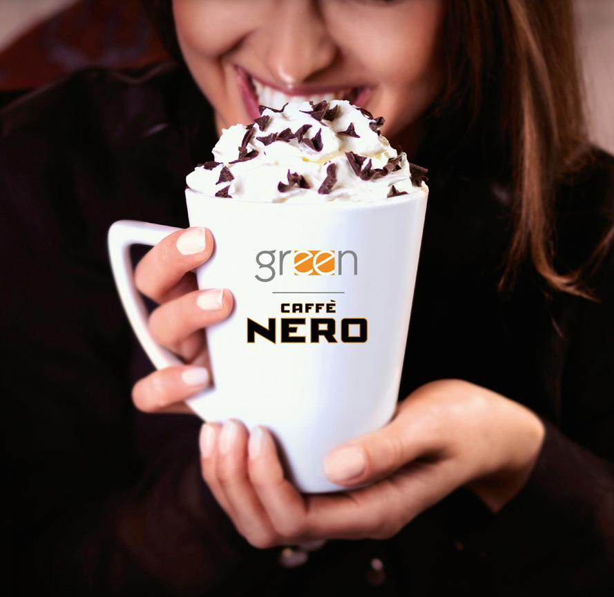 Green Caffé Nero – Mocha Campaign